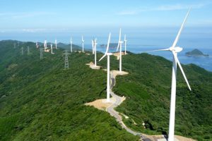 Trang trại phong điện đầu tiên tại Hà Tĩnh, công suất 120 MW