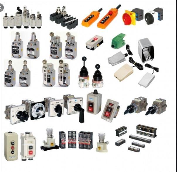 Các thiết bị trong tủ điện công nghiệp