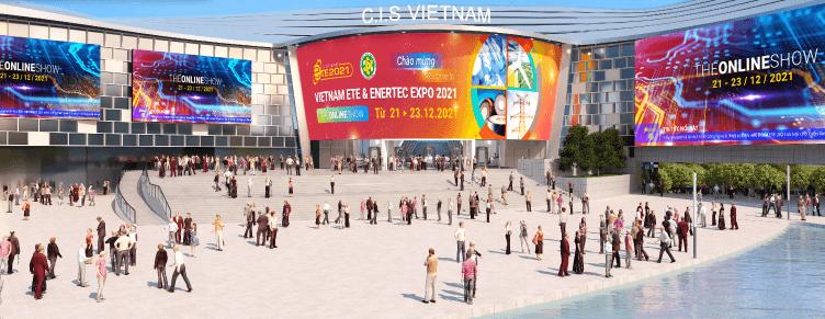 TRIỂN LÃM TRỰC TUYẾN – GIẢI PHÁP KẾT NỐI QUỐC TẾ HIỆU QUẢ TẠI VIETNAM ETE & ENERTEC EXPO 2021